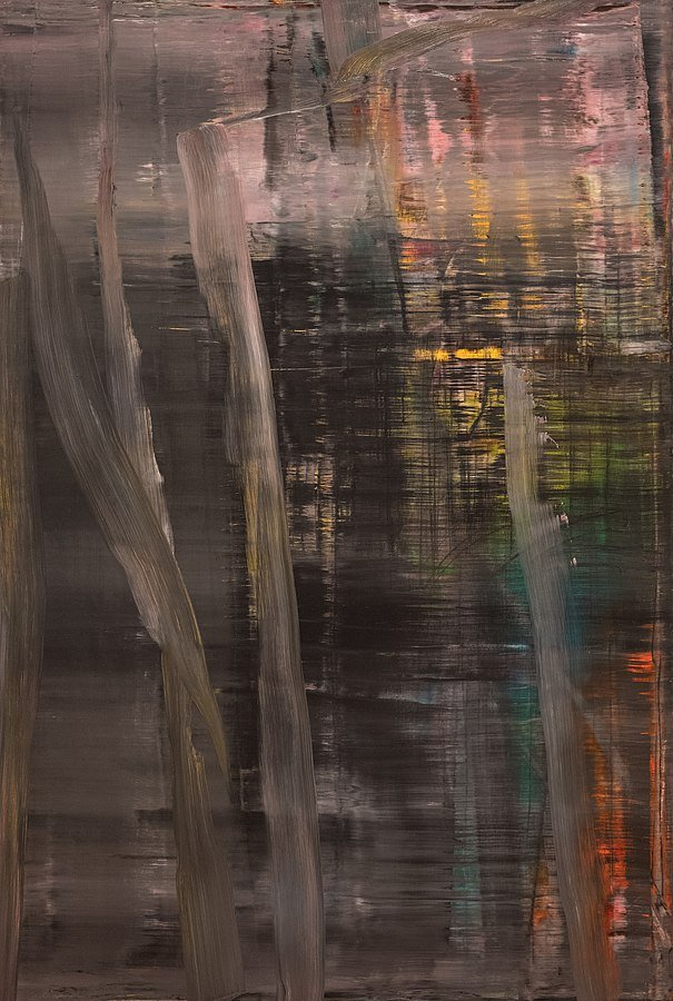 Gerhard Richter, Woods (1), 2005 1/13/18 #moma. Sharon Mollerus [CC BY 2.0 (https://creativecommons.org/licenses/by/2.0)]